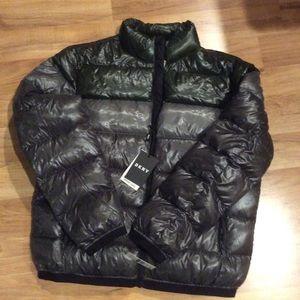 DKNY Down Jacket ~ L
